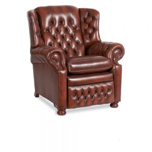 Albany recliner - antique light rust