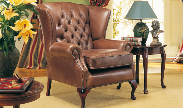 Colchester fauteuil - old English hazel