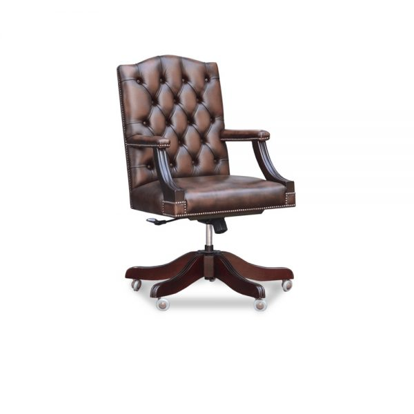 Gainsborough t&s bureaustoel - antique brown