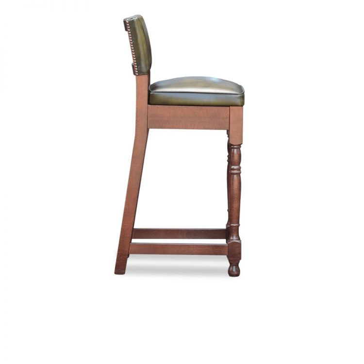 Regency barstool - antique olive