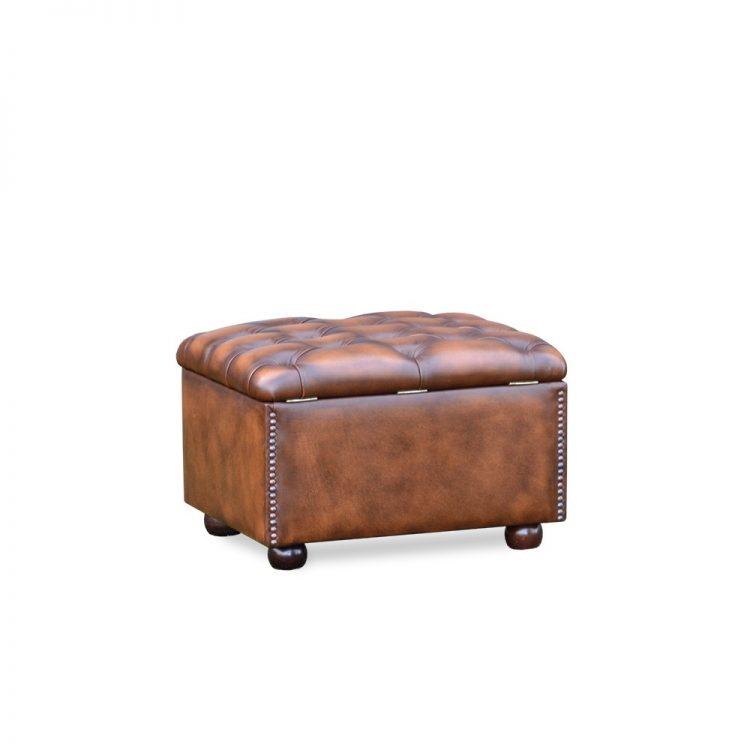Slipperbox - antique tobacco tan