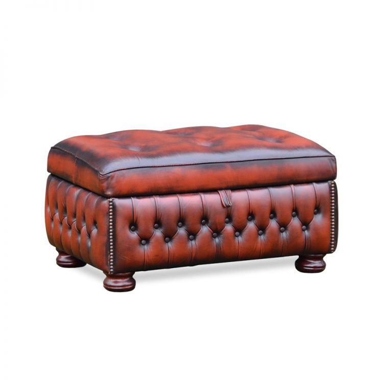 Norway slipperbox - antique dark rust