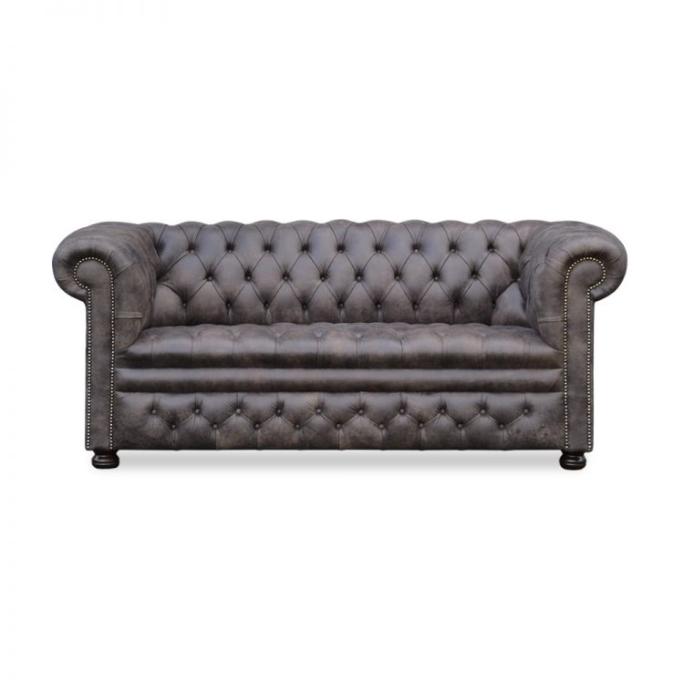 Rossendale 2,5 zits buttoned seat - tribe moss