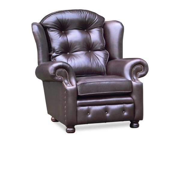 Suzanne fauteuil - old English smoke