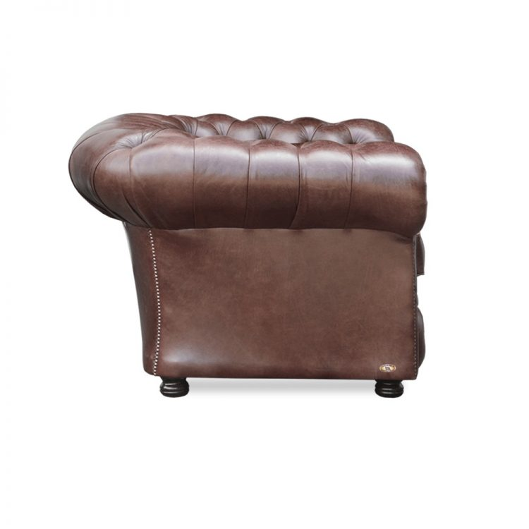 Bristol fauteuil - old English dark brown