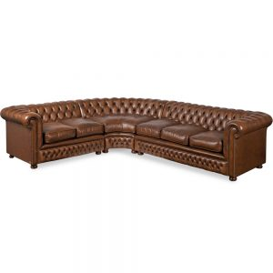 Chesterfield Glenwood corner - antique autumn tan