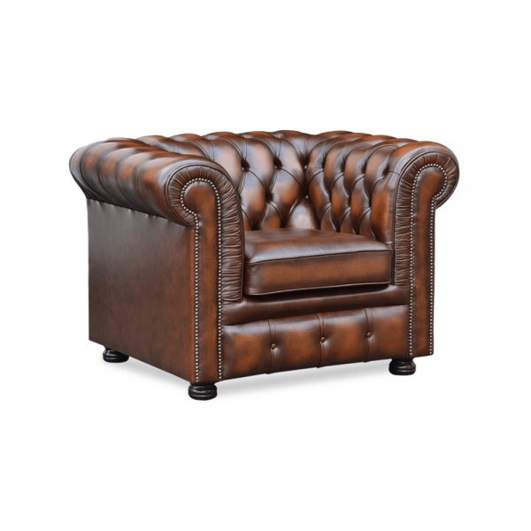 Glenwood fauteuil - antique autumn tan