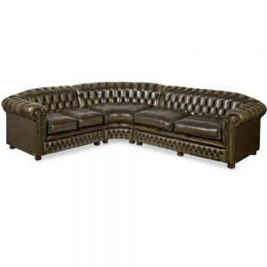 Chesterfield haslingden corner - antique olive