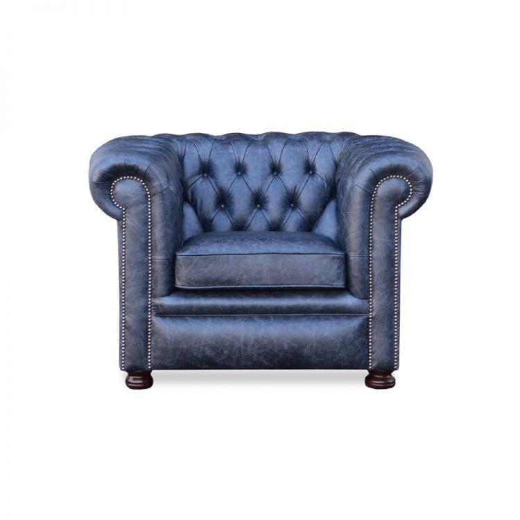 Rossendale fauteuil - faeda vintage coal
