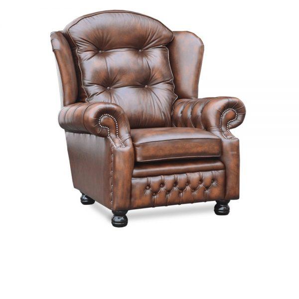Suzanne fauteuil - antique autumn tan