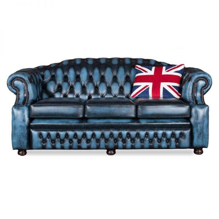 Westminster 3 zits - antique blue