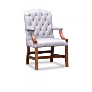 Gainsborough XL carver chair plain - old English lead