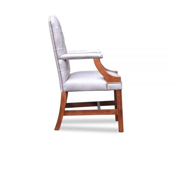 Gainsborough XL carver chair plain - old English lead