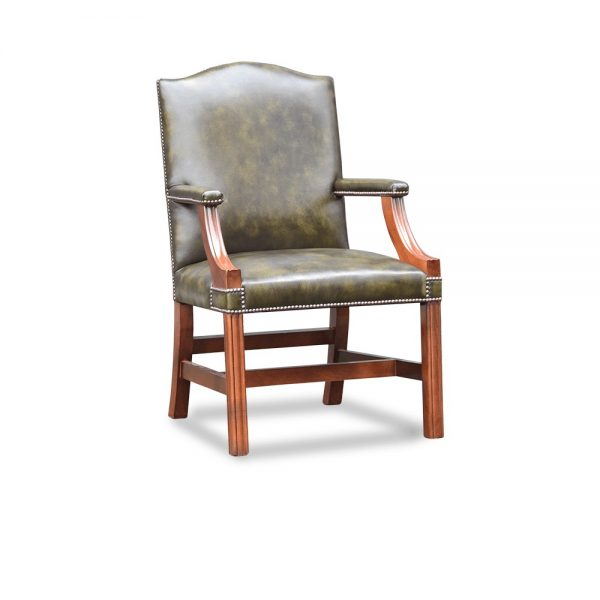 Gainsborough XL carver chair plain - antique green