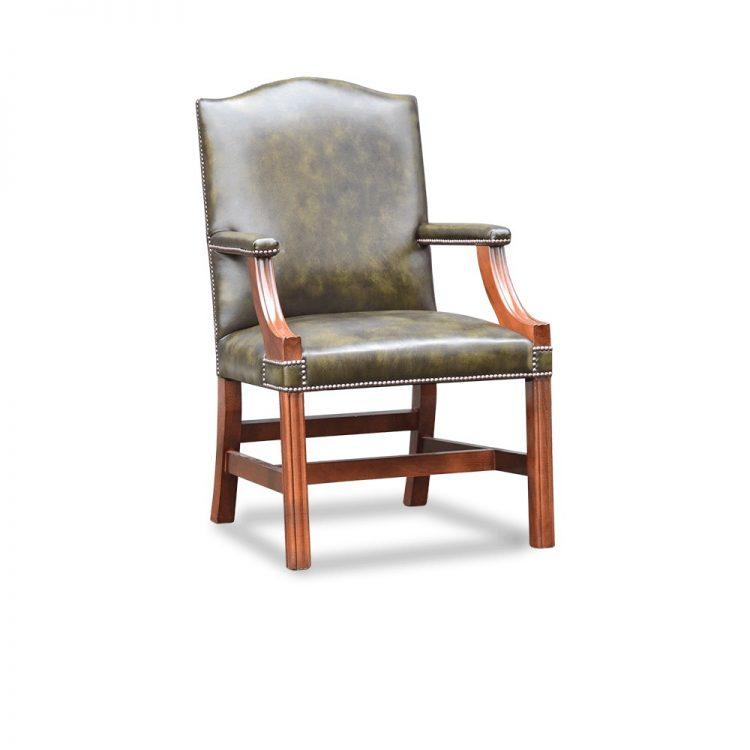 Gainsborough XL carver chair plain - antique green