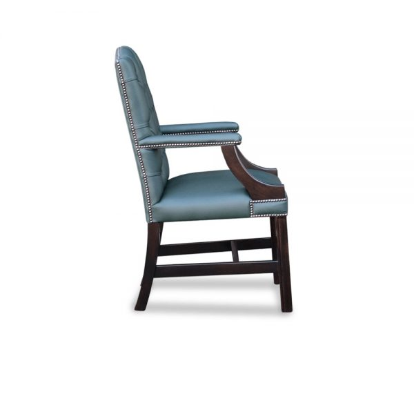 Gainsborough XL carver chair - shelly forrest green