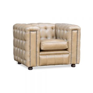 Liverpool fauteuil - old English sand