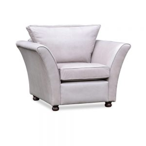 Knoll fauteuil - old English fog