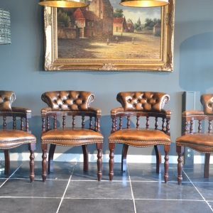 Captains chairs autumn tan