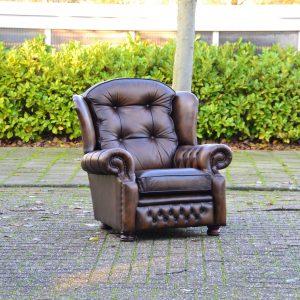 Suzanne fauteuil antique gold