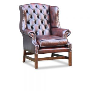 Yorkshire high chair - antique dark rust